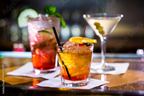фотографія  Cocktails