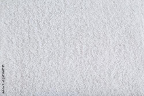 Fotobehang Stof White towel background