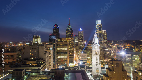 Philadelphia Skyline Wallpaper Mural