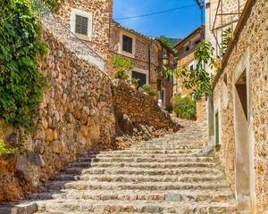 Fototapeta Uliczki Mallorca - Spain