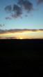 Sunset over a feild