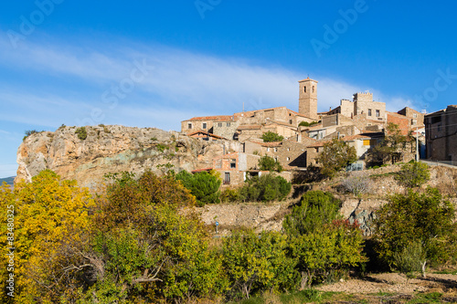 San Felices village in Soria, Spain