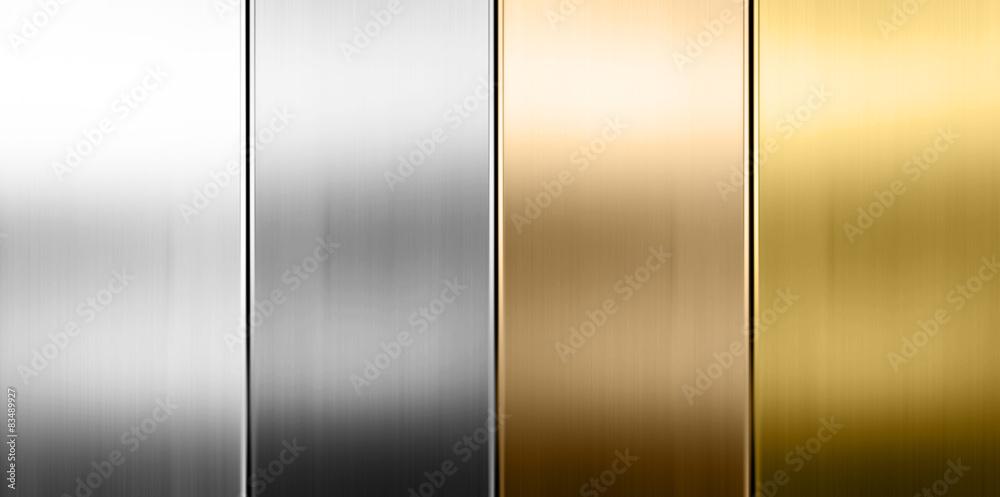Fototapeta Metall Textur