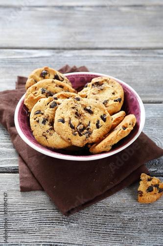 Garden Poster Cookies Delicious cookies with chocolate