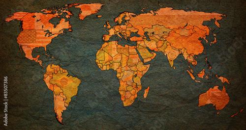 portugal territory on world map – kaufen Sie diese Illustration und ...