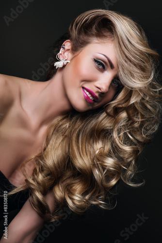 Obraz na plátně  Krása blondýnka
