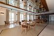 restaurant interior luxury hotel.