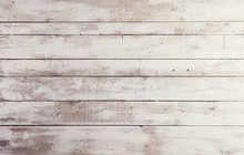 White Wooden Boards With Textu...