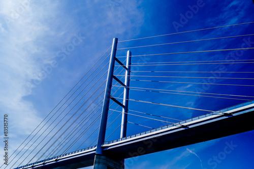 Fotografie, Tablou  Neue Brücke von Stralsund nach Insel-Rügen
