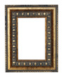Vintage frame for photos. Isolated
