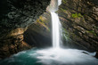 Switzerland, Skt Gallen, Thur waterfall
