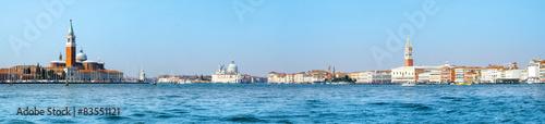 Foto op Plexiglas Venetie Panoramic view of best landmarks in Venice, Italy