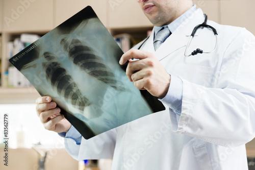 Fotografie, Obraz  Doctor.Xray plic. NEMOCNICE. lékařská prohlídka.