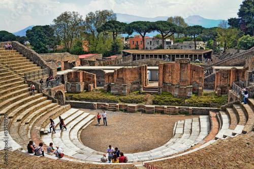 Pompei Großes Theater