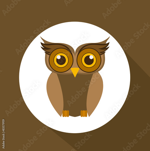 Photo Stands Owls cartoon Owl design