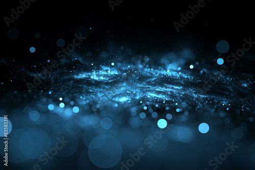 Fotomural  Abstract bokeh background