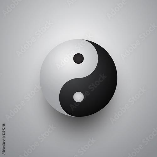 Photo  3D Yin Yang Ball