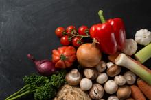 Food Background Vegetable Mix