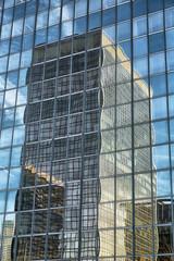 FototapetaSkyscrapers against blue sky