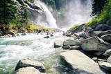 Fototapeta Bathroom - Krimmler Wasserfall