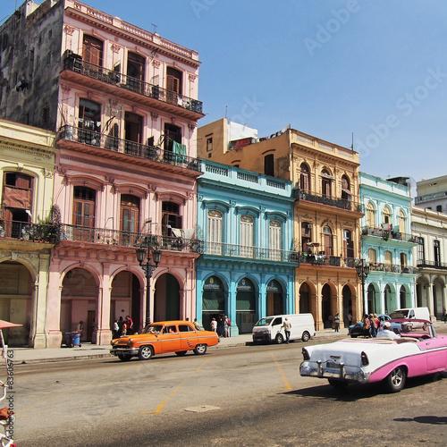Garden Poster Havana havana, kuba, Strassenszene
