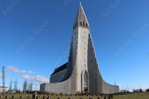Fotografija  Hallgrimskirkja, Reykjavik