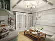 3D render of a bath in the private house