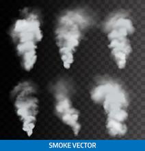 Realistic Transparent Smoke, S...