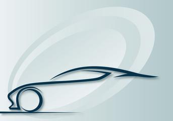 FototapetaKarizmatik otomobil logosu 1