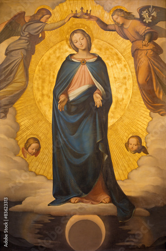Rome - The Immaculate Conception paint Wallpaper Mural