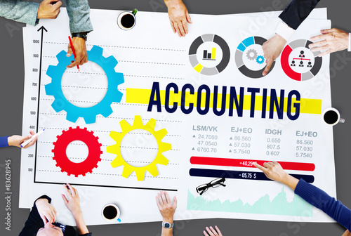 Accounting Account Financial Finance Economy Concept - Buy this