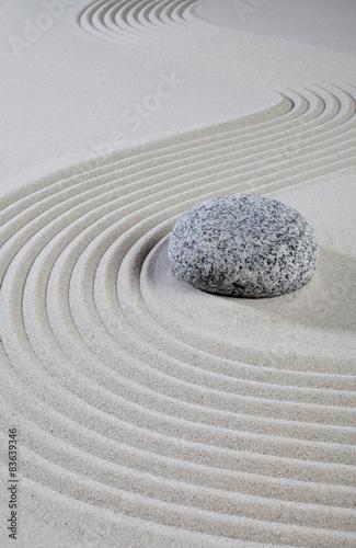 Photo sur Plexiglas Zen pierres a sable pierre dans le désert