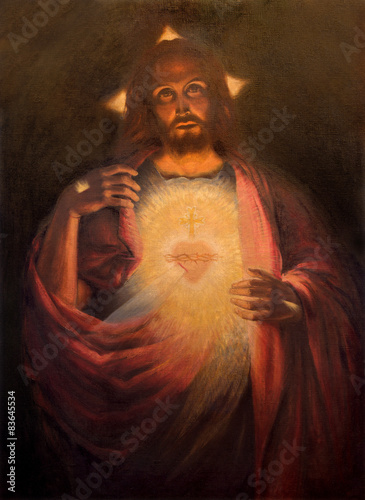 The Heart of resurrected Jesus Christ paint - 83645534