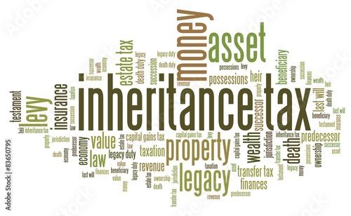 Fotografía  Inheritance tax