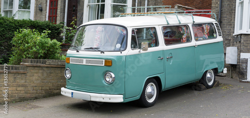Photo Vintage Camper Van
