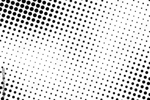 Cuadros en Lienzo  Halftone background
