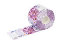 Roll Of Euro Toilet Paper