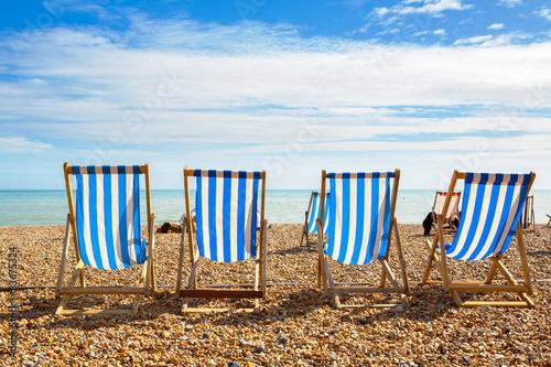 Cuadros en Lienzo Brighton beach. Brighton, England