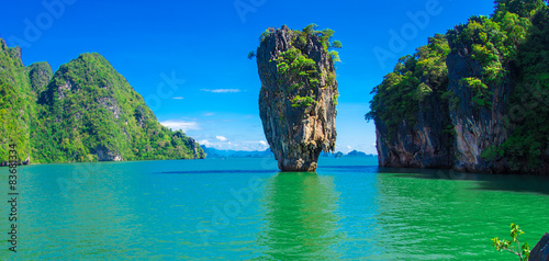 james bond island in thailand, ko tapu Canvas Print