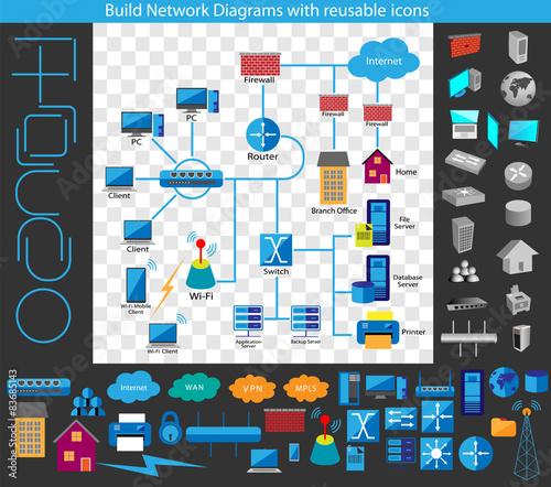 Concept of building a network diagram build your own network concept of building a network diagram build your own network diagrams through a complete collection ccuart Images