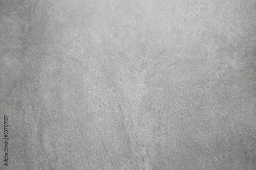 Photo sur Toile Beton Gray concrete wall, abstract texture background