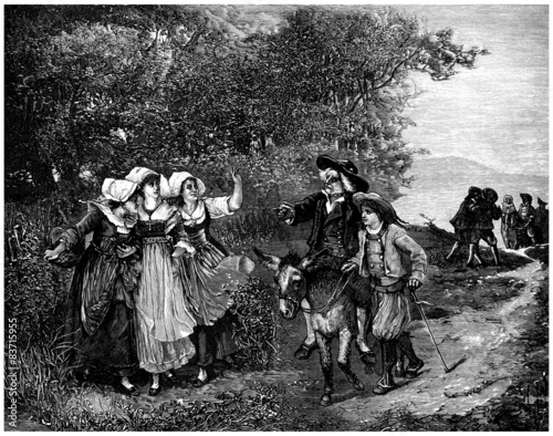 RuralScene_19th_1878-79 Canvas Print