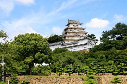 Zamek Himeji w Japonii Canvas Print