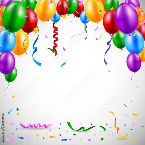 Fotografía  Birthday balloon