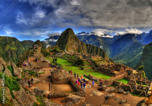 Fotografía  The Machu Picchu in HDR