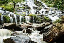 Waterfall In Doi Inthanon Nati...
