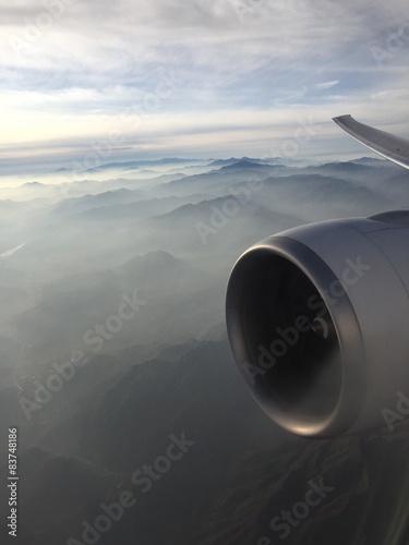 Fotografie, Obraz  au dessus de la brume