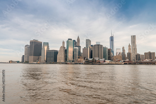 Photo  Skyline of Downtown Manhattan