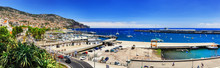 Panoramic Landscape With Funchal Port. Madeira Island