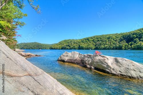 Fotografie, Obraz  Summersville Lake, West Virginia